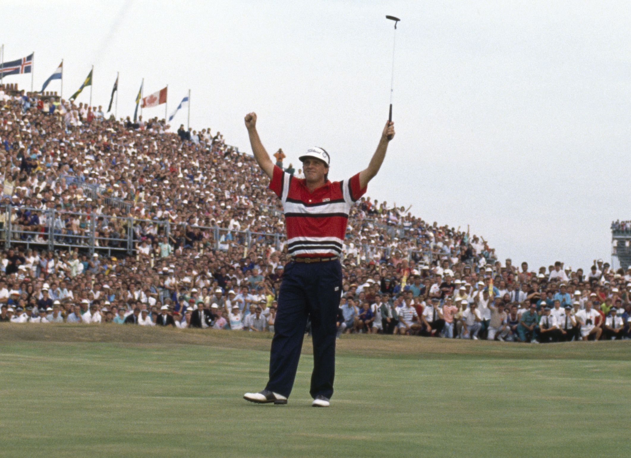 1989 british open golf tournament winners and scores