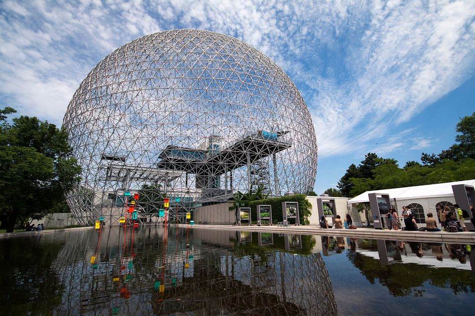 Photos of the Montreal Biosphere