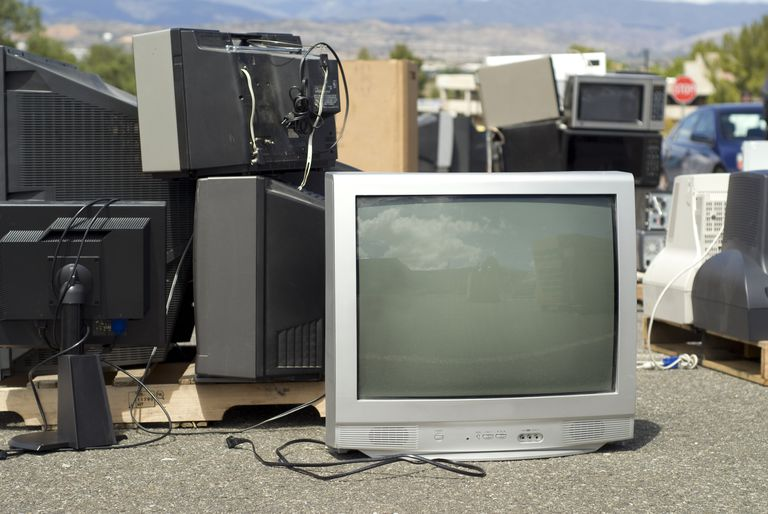 Recycled TVs