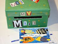 Make a Shoebox Valentine Mailbox