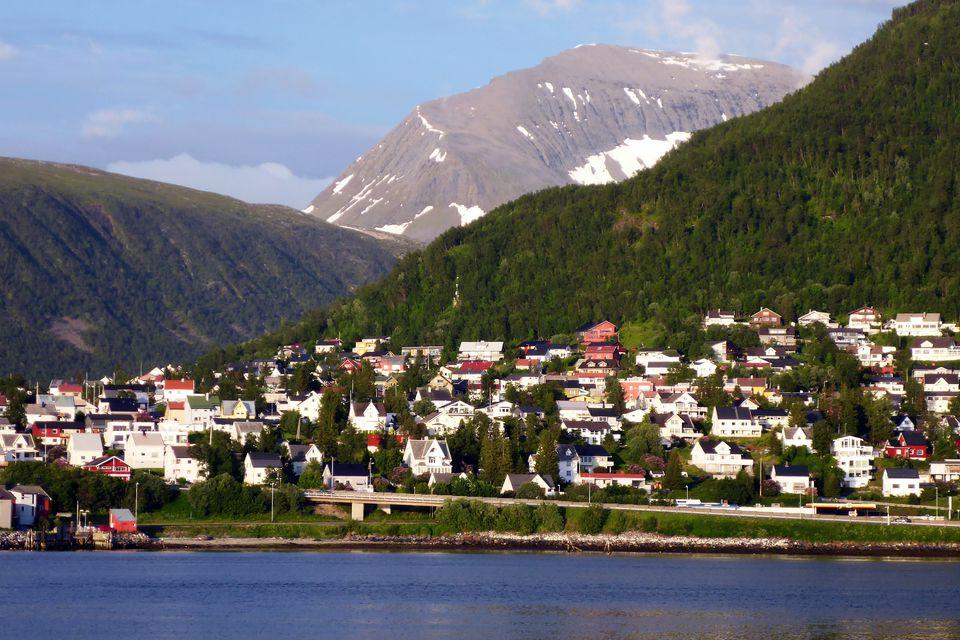 Tromso, Norway in early July