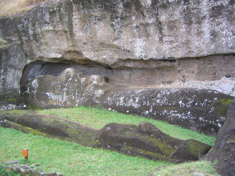Rano Raraku Quarry at Easter Island