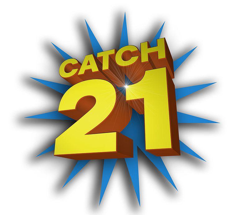 catch 21 logo gsn game show