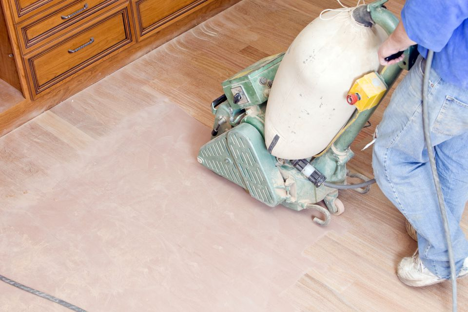 floor moved sander be easily brushes floors rooms refinish drill and to hardwood allow spaces a wheels how