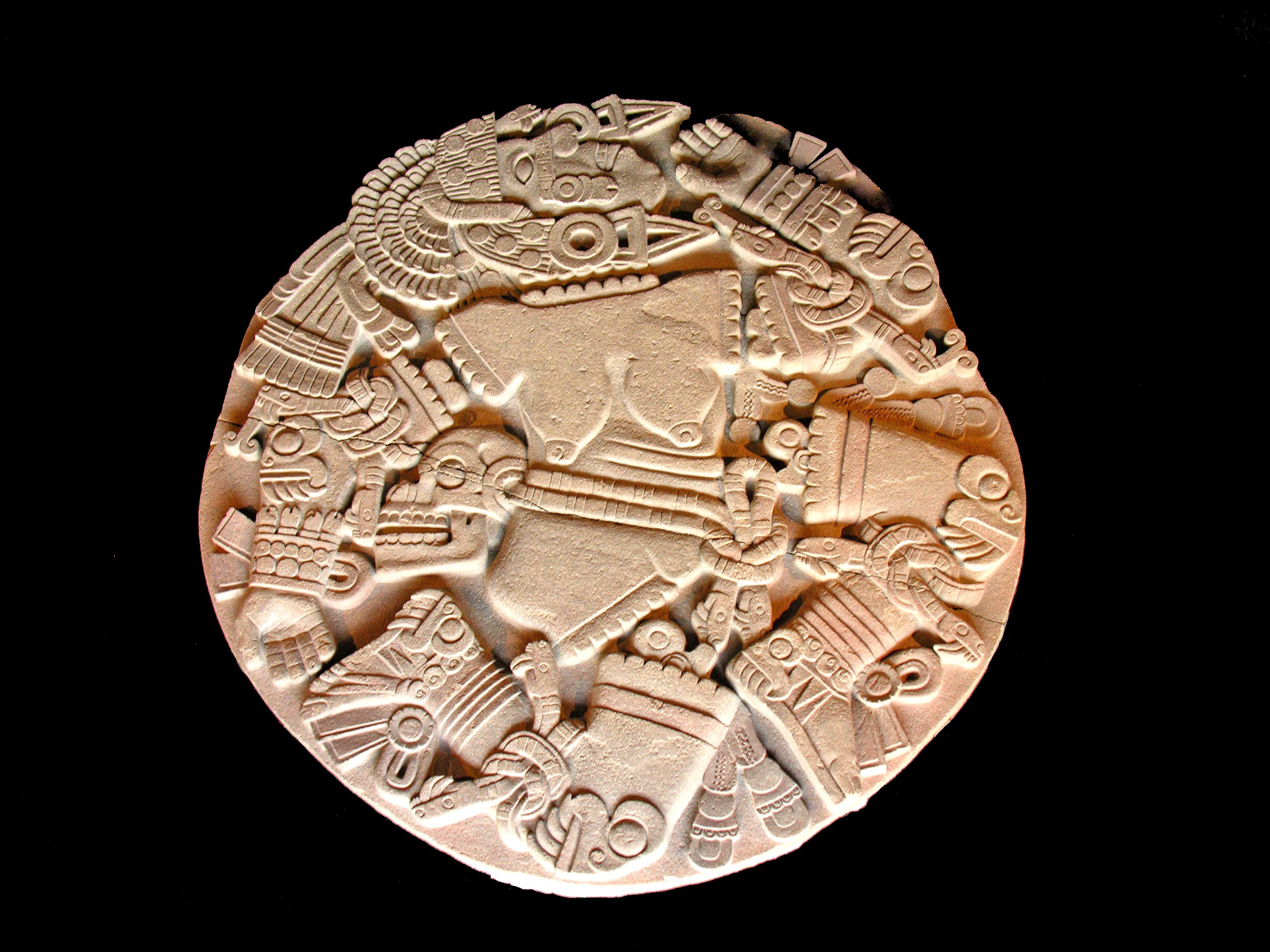 Huitzilopochtli Aztec God Of Sun War And Sacrifice