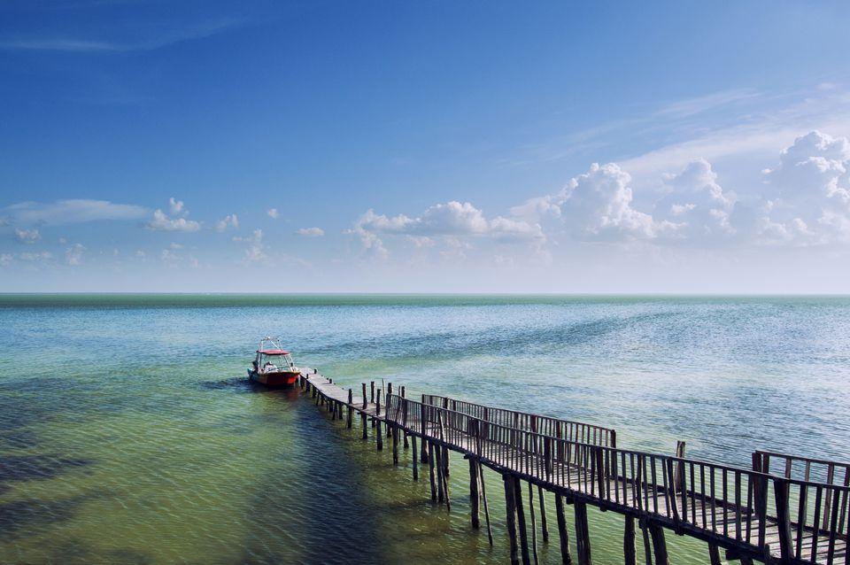 Caribbean Sea, Holbox Island, Mexico