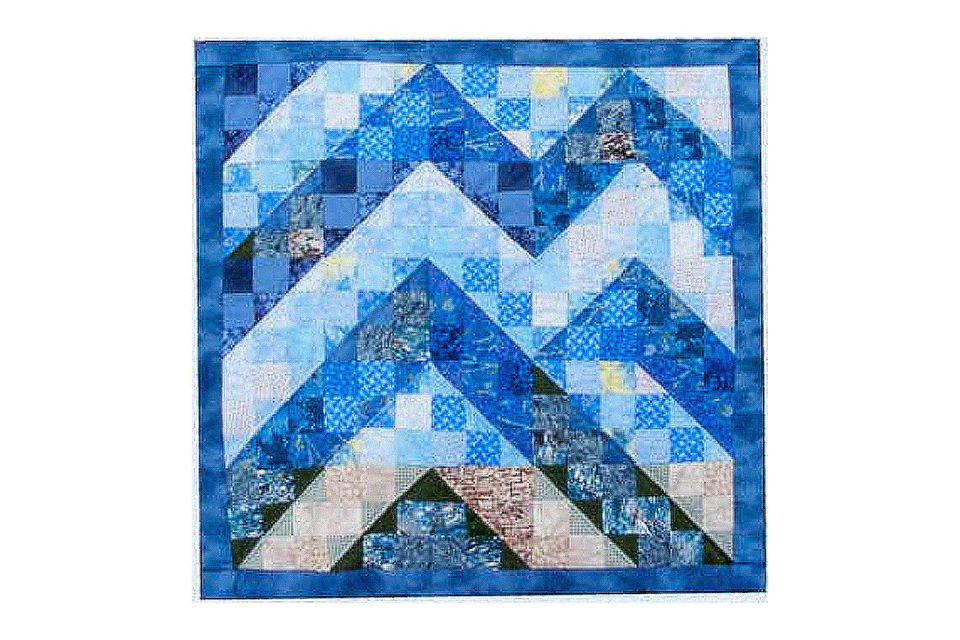Carolina Byways Watercolor Quilt