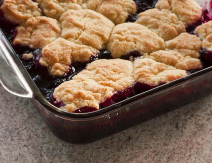 Canned Blackberry Cobbler Cake Mix Canned