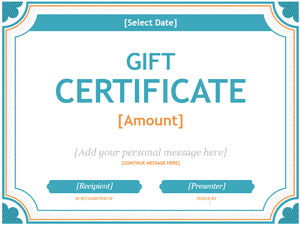 173 free gift certificate templates you can customize microsofts free gift certificate templates yadclub Images