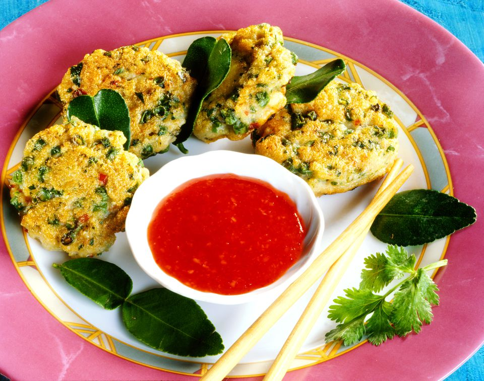 Mini Thai Fish Cake