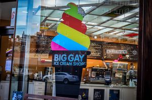 Big Gay Ice Cream Shot