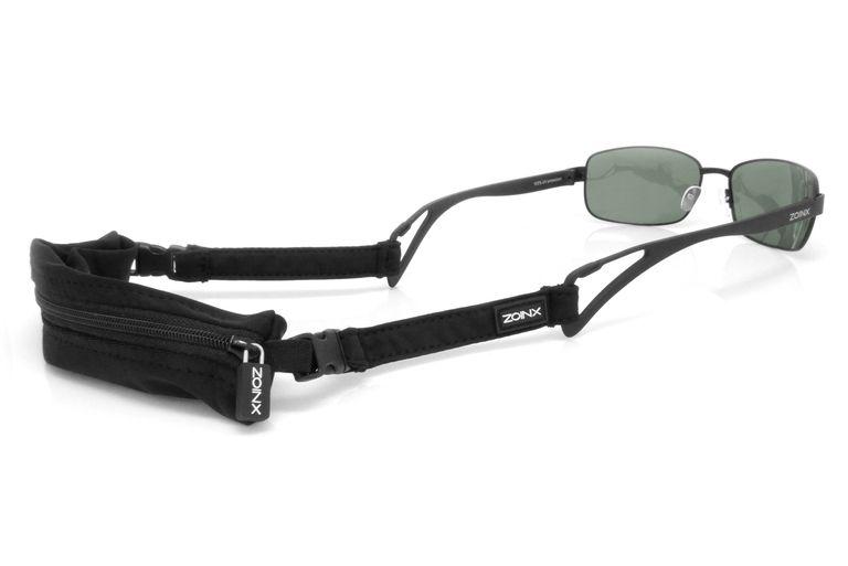 Zoinx Wrap Clip Sunglasses with Zipper Pouch