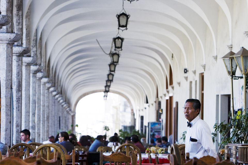 A restaurant in Peru
