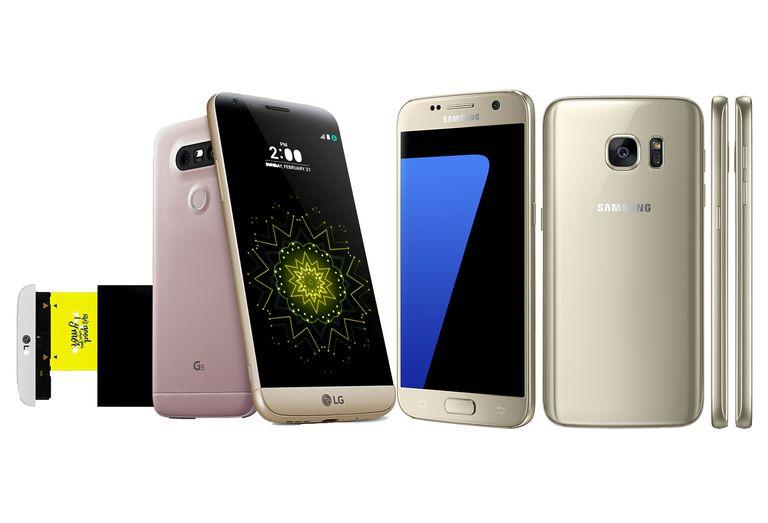 LG G5 y Samsung Galaxy S7