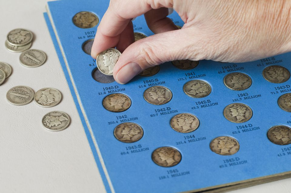 Old Mercury Head Dimes - Coin Collection Series