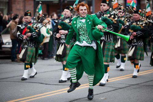 St Patricks Day Parade Celticfest Vancouver