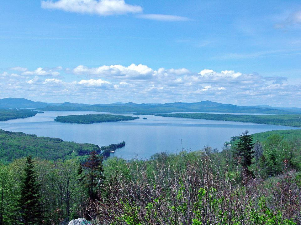 Height of Land Maine Photo - Dramatic Overlook is a Scenic Spot