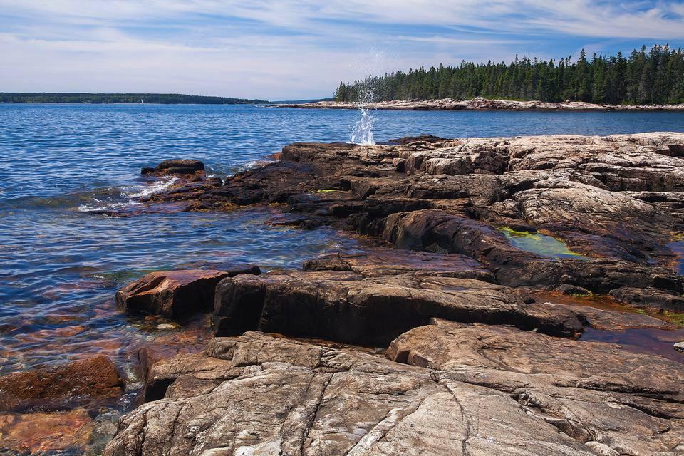 Images of Acadia. Near Seawall, west side of Mount Desert Island, Acadia National Park.