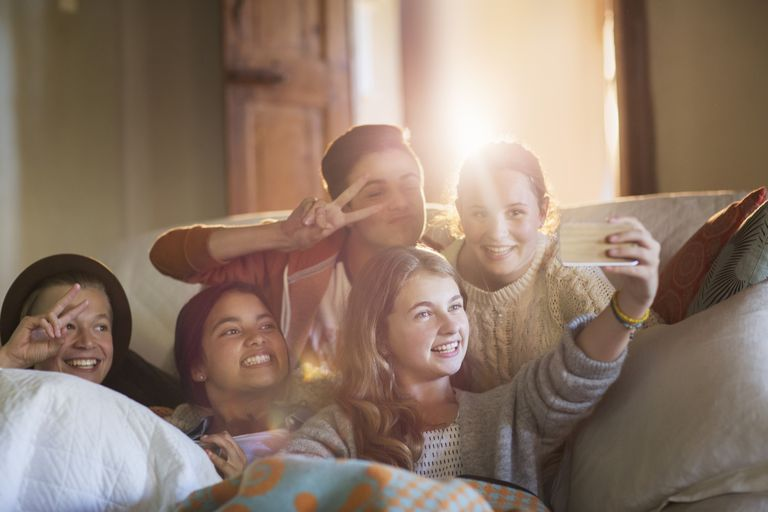 A sleepover party is a great way for tweens to forge strong friendships.