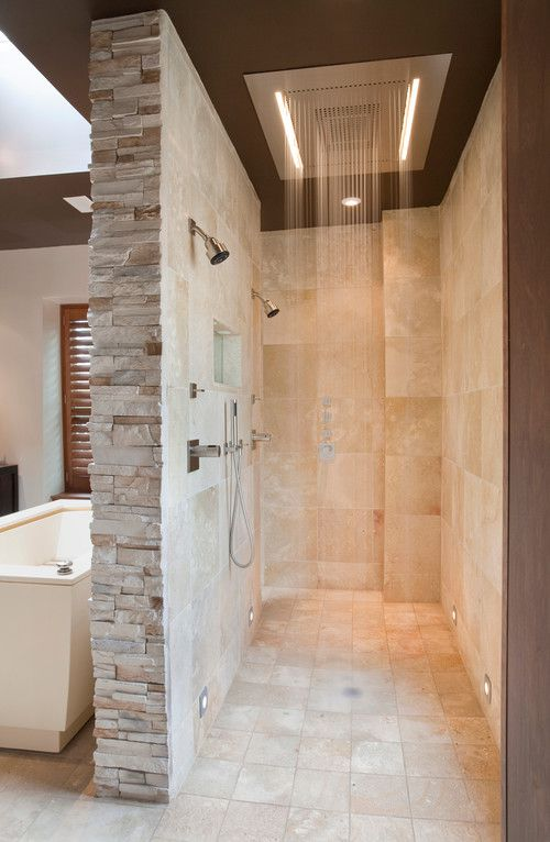 14 Bathrooms With Double Showers