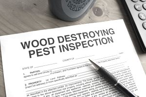 pest inspection form