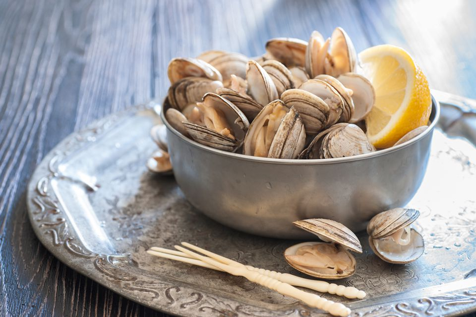 Fresh Steamed Clams