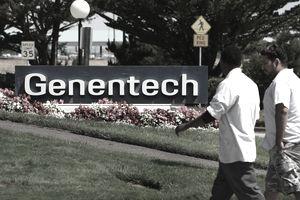Genentech sign