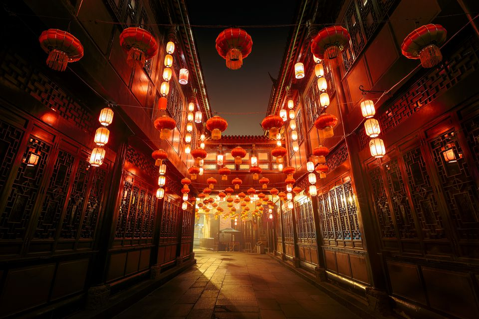 Jinli Street in Chengdu