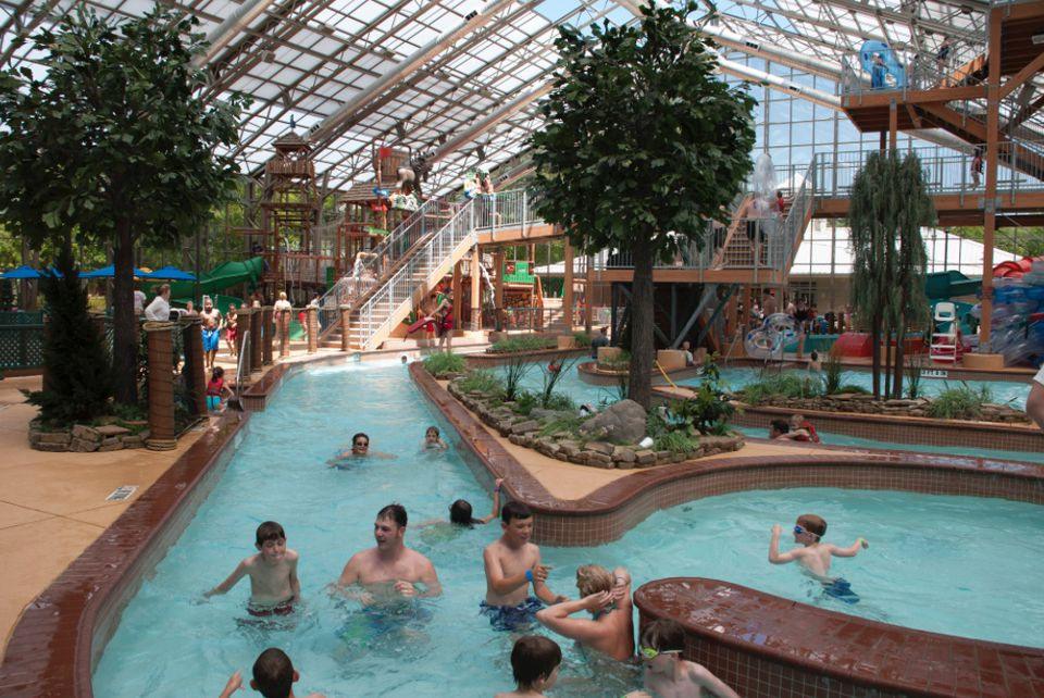 Waterpark at The Villages in Flint, Texas