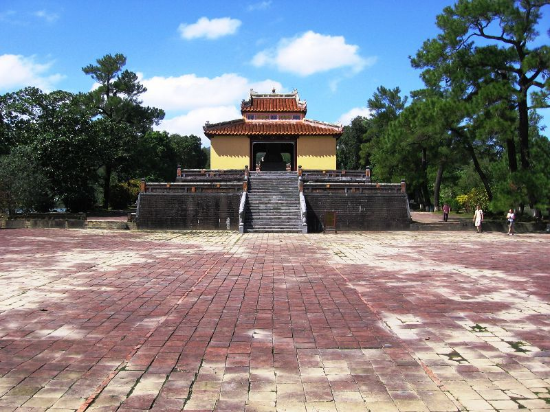 Image of Stele Pavilion, Minh Mang Royal Tomb, Hue, Vietnam