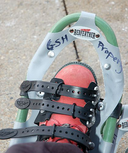 Redfeather Snowshoes - Right Gear for Snowshoeing in Vermont at Mount Snow