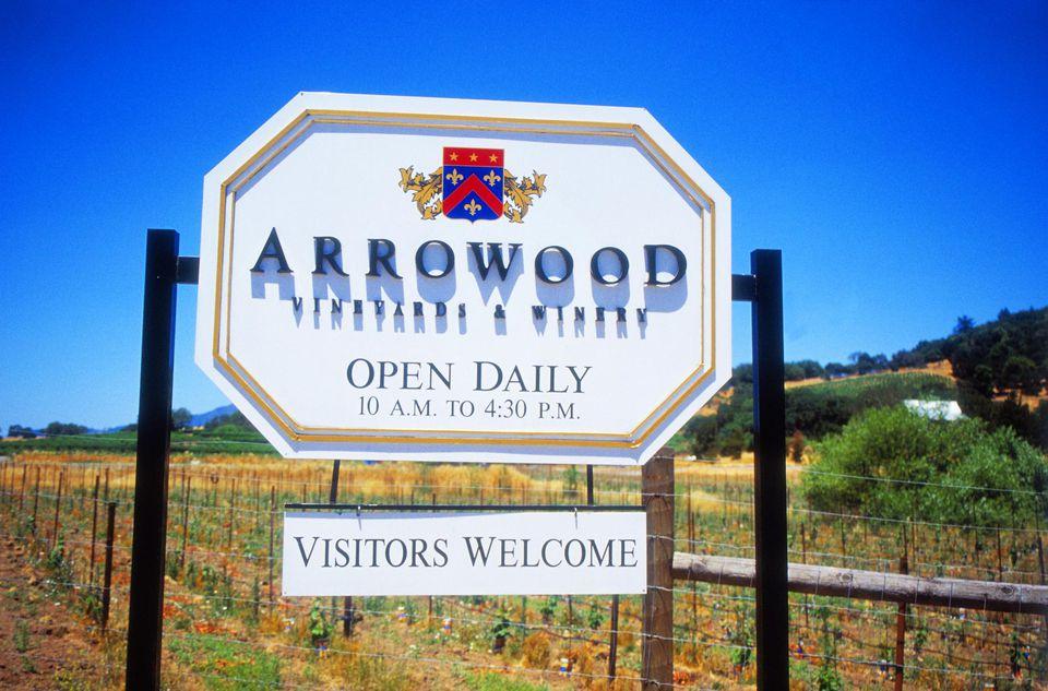 Arrowood Winery, Sonoma, California, USA