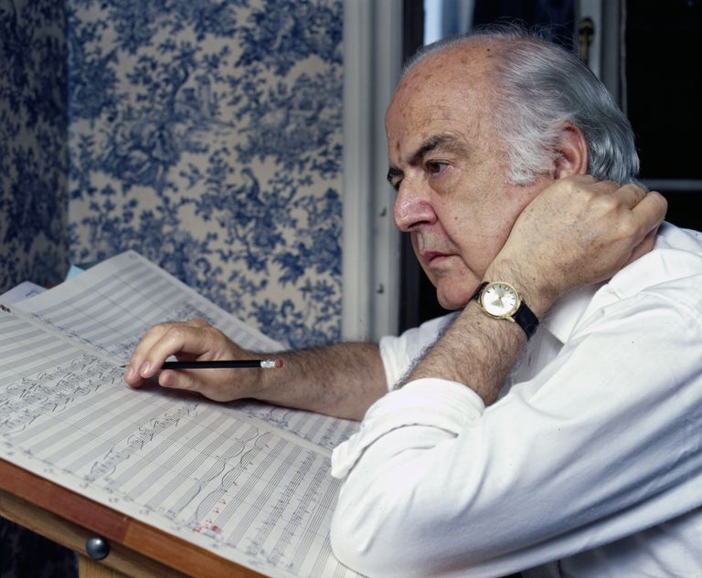 Composer Samuel Barber