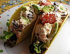 Cool Salmon Tacos