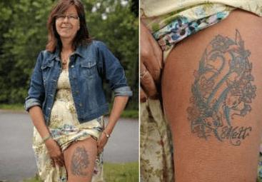 Tatuajes curiosos con cenizas