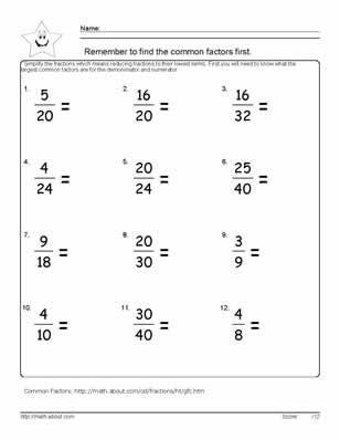 Angiosperm And Gymnosperm Worksheet Excel Reduce The Fraction Worksheets Th Grade Math Sentences And Fragments Worksheet with Scissor Skills Worksheet Reduce The Fractions Short Vowel Worksheets For 2nd Grade