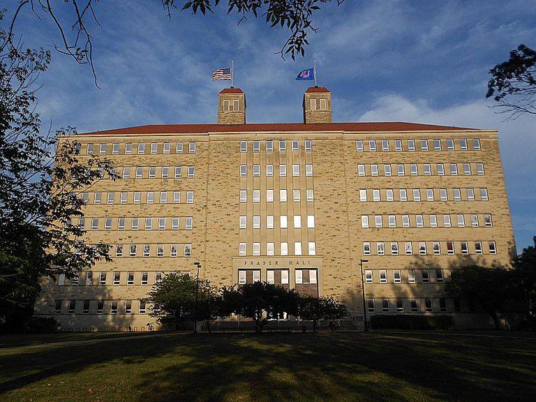 Fraser Hall at the University of Kansas