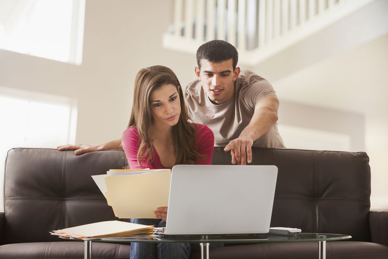 Couple on Computer