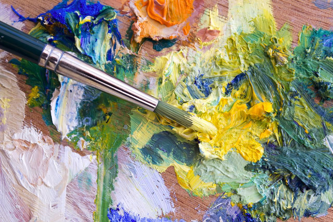 The basics of painting with acrylics for Acrylic mural paint supplies