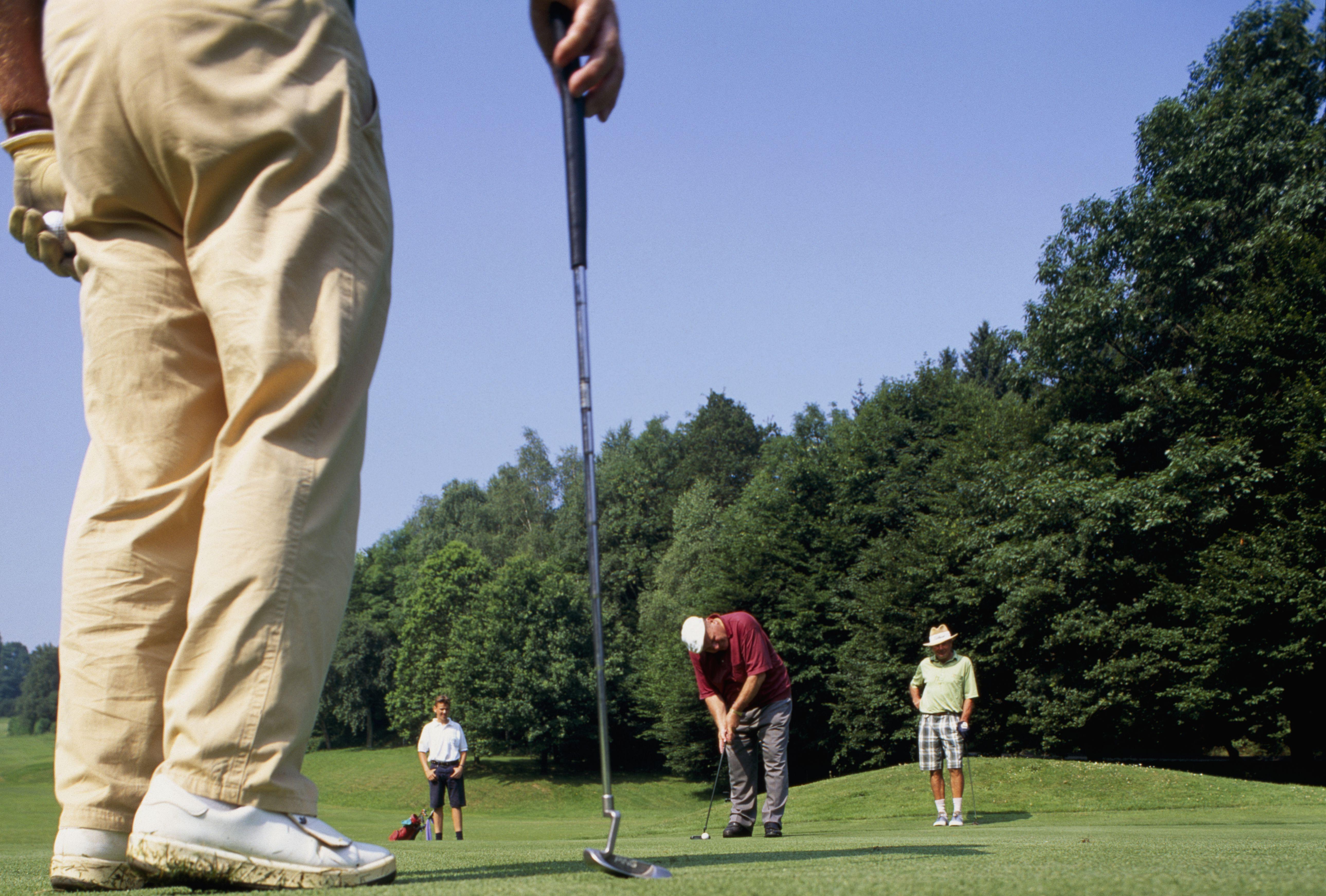 how to play a texas scramble golf tournament