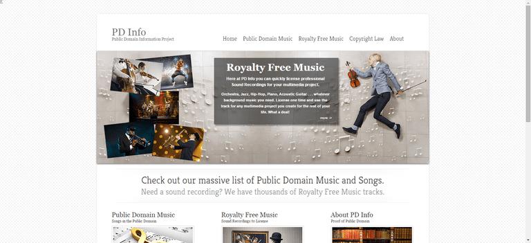 Public Domain Information Project
