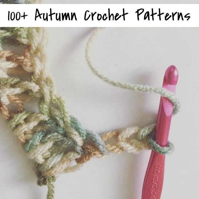 100+ Autumn Crochet Patterns