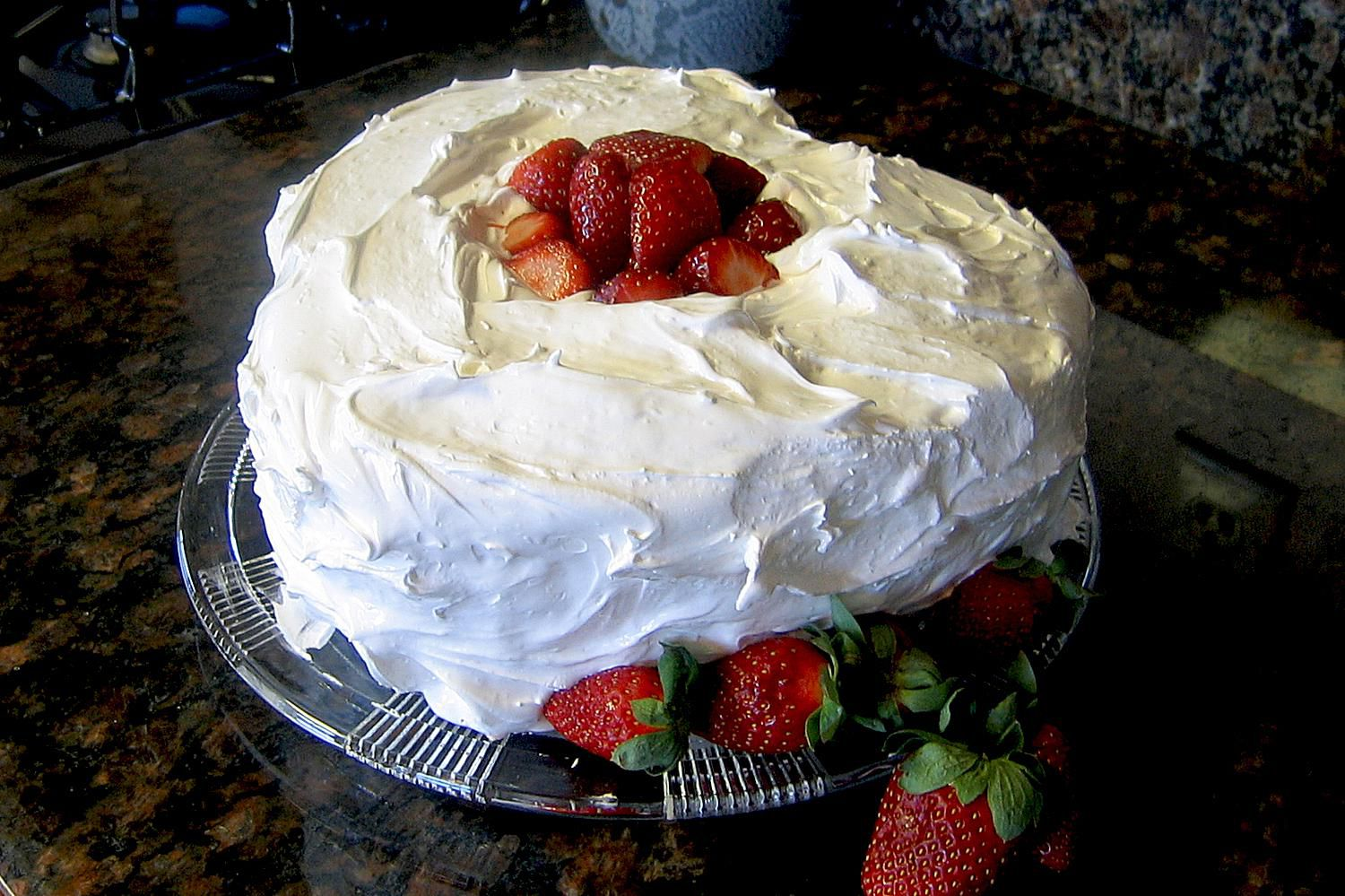 Boiled Frosting Cake