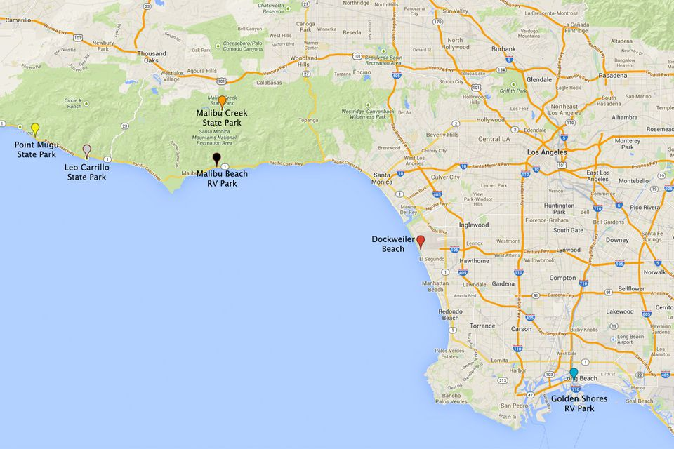 Los Angeles Camping How To Find The Best Campgrounds