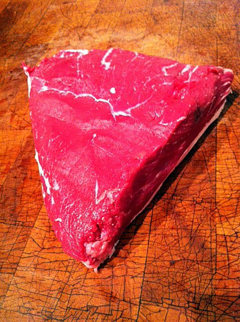 Top Sirloin Cap meat cut