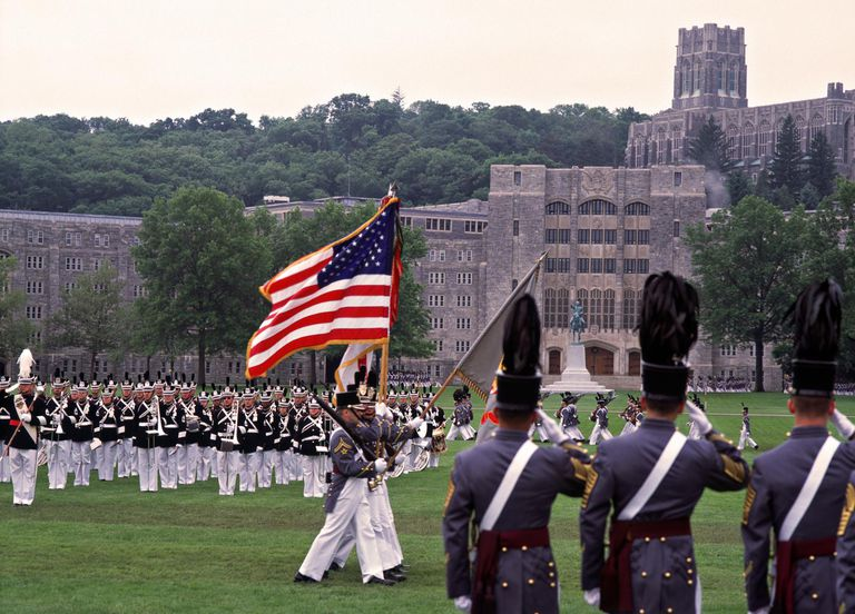 West point military academy, new york state, usa