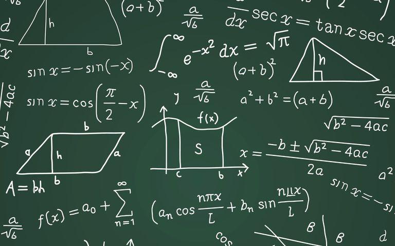 Math Formula Blackboard Calculation