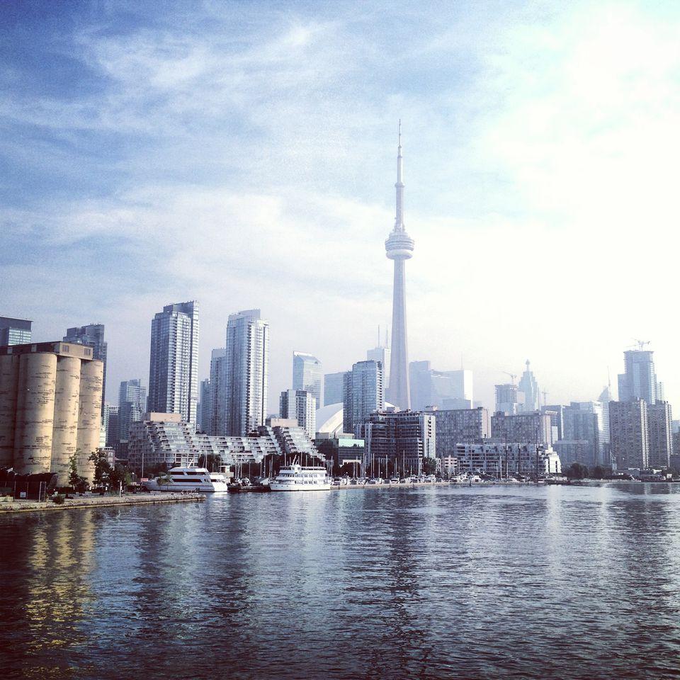 The Toronto waterfront.