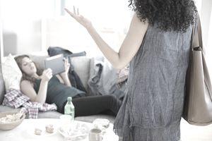 Roommates arguing
