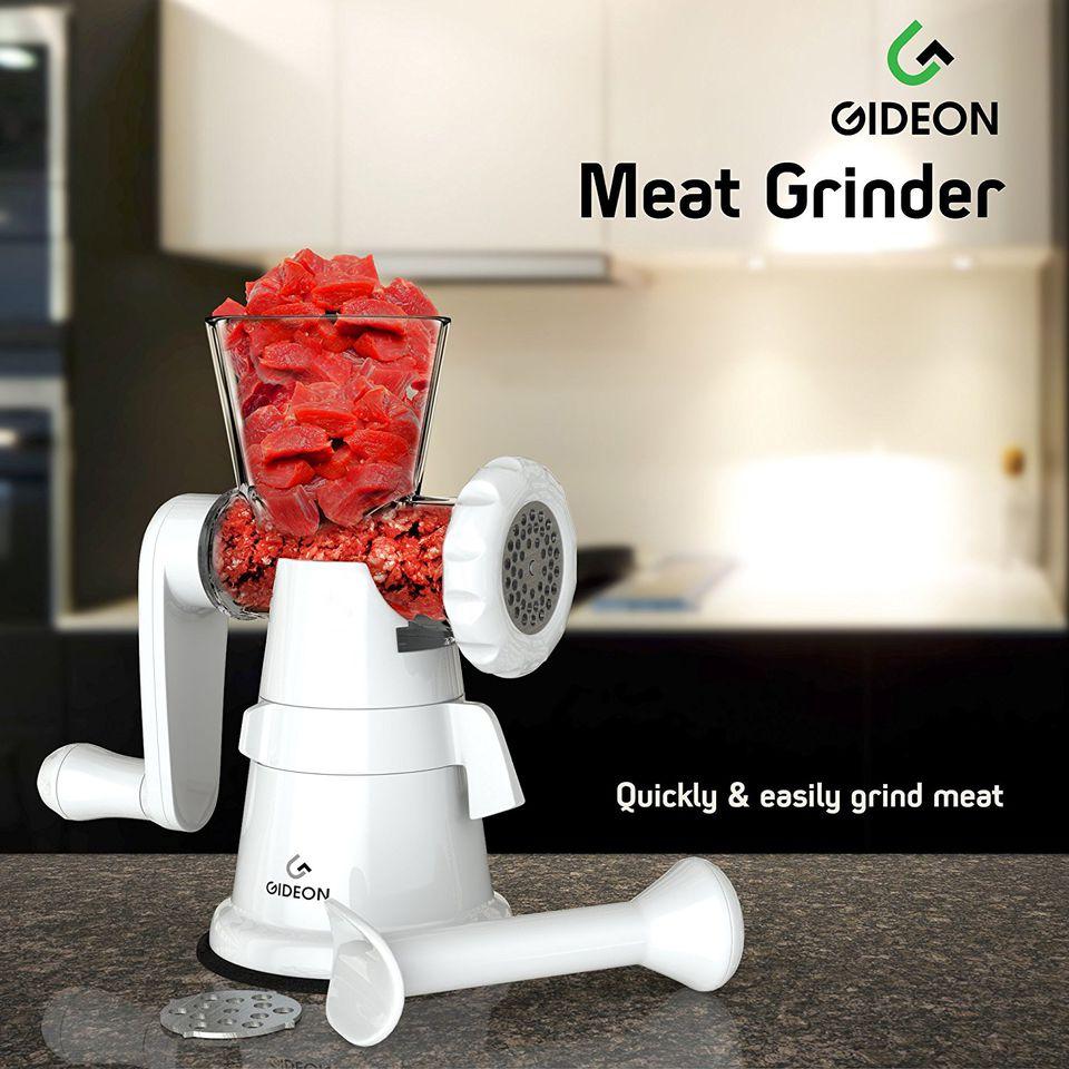 Gideon Hand Crank Manual Meat Grinder